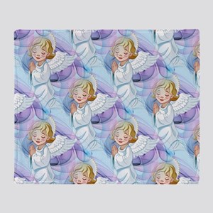 Praying Angel- Throw Blanket